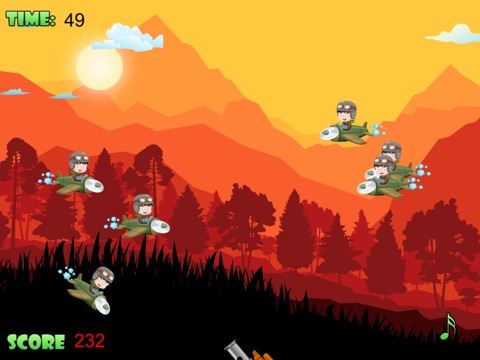 Screenshot #3 for Air Defense - Cannon fire takedown