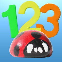 Ladybug Number Count by Busy Brain Media - The Best Early Learning Education App for Teaching Children Counting and Recognition of Numbers with a Fun Game, in French, Spanish and English.