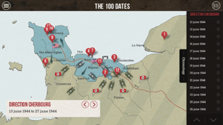 The 100 Dates of the battle of Normandy screenshot three