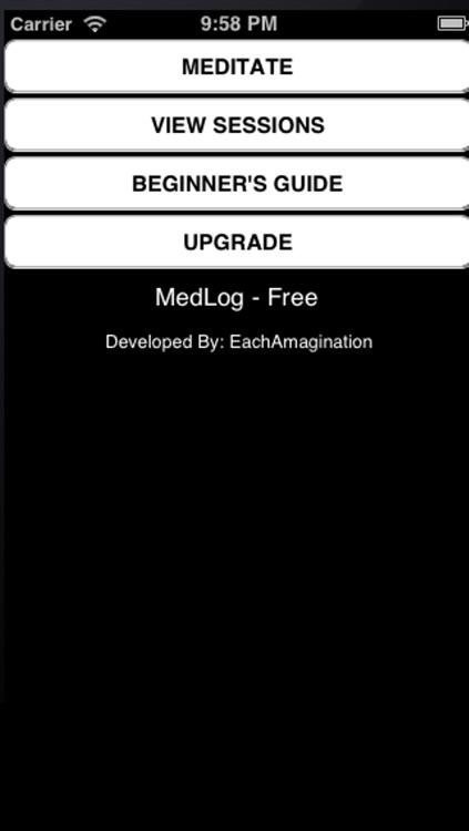 Meditation Timer & Log Free by EachAmagination