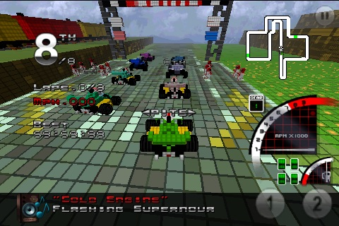 3D Pixel Racing screenshot-4