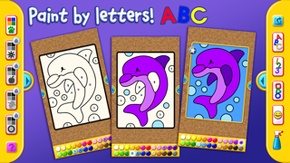 I Like to Paint Letters, Numbers, and Shapes Liteのおすすめ画像1
