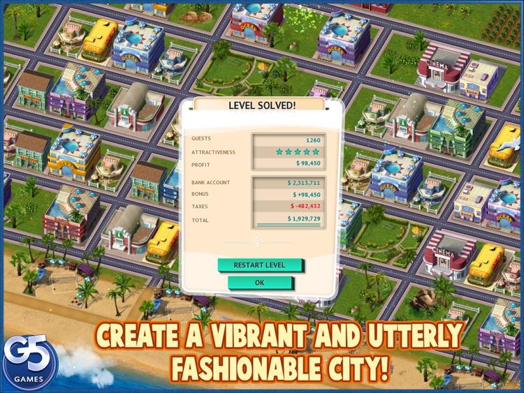 Build It! Miami Beach Resort HD (Full) screenshot-4