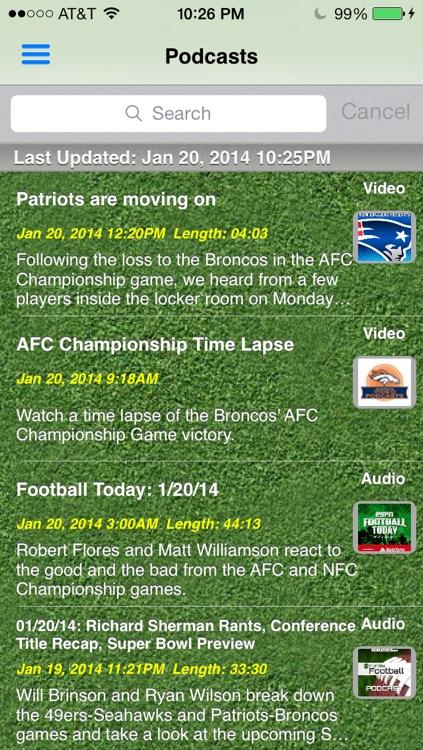 Pro Football Radio Live - News, Scores, Schedule & Highlights screenshot-3