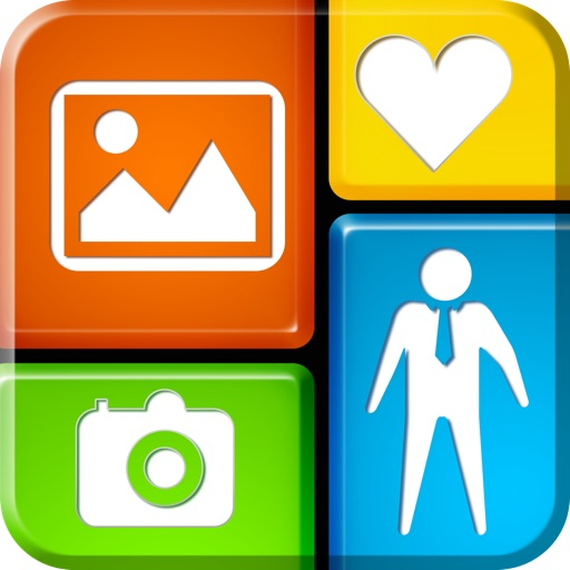 InstaFric - Photo Frames & Collages. icon