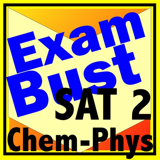 SAT 2 Chemistry & Physics Prep Flashcards Exambusters