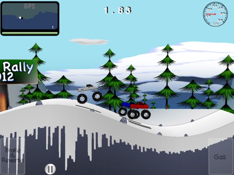Snow Rally 2012 HD screenshot-0