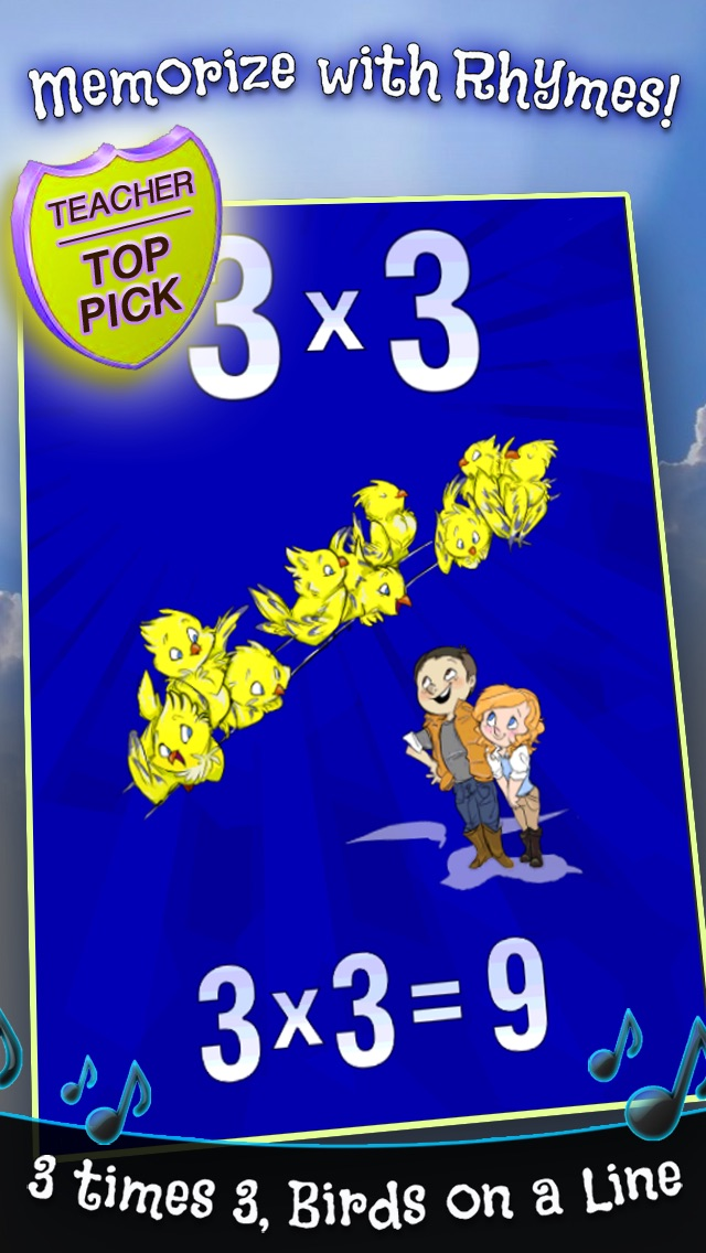 Top 10 Apps like HappyMath Multiplication Rhymes FREE in