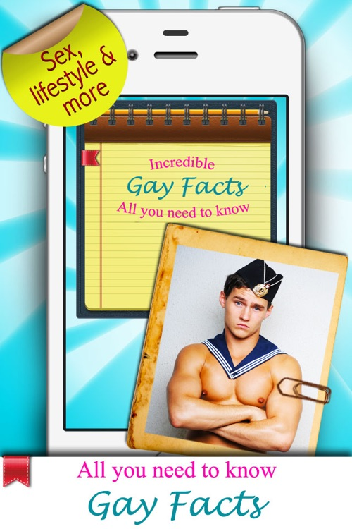 Gay Facts - All about Gay Life, Sex & More