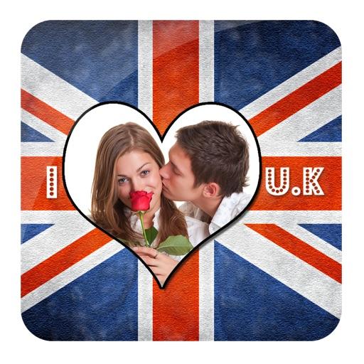 UK Flag Frame Maker
