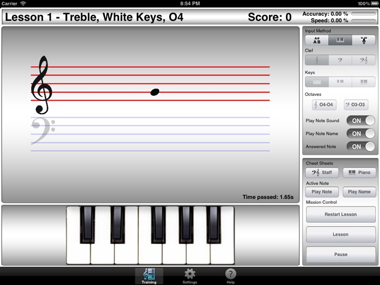 iLovePiano screenshot-1