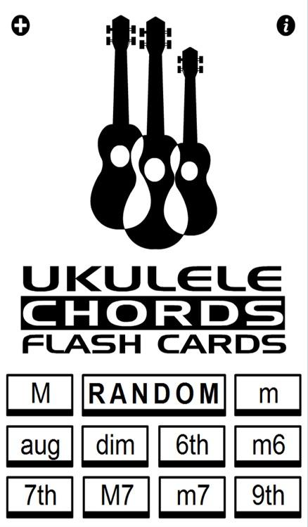 Ukulele Chords Flash Cards screenshot-3