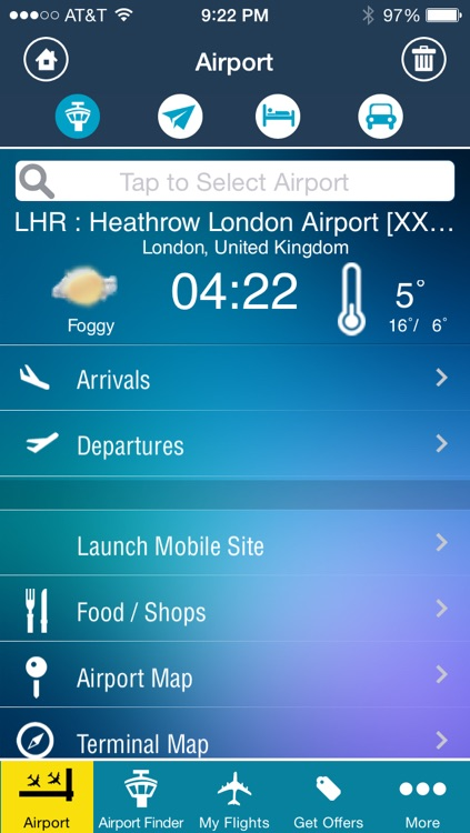 Heathrow Airport Flight Tracker