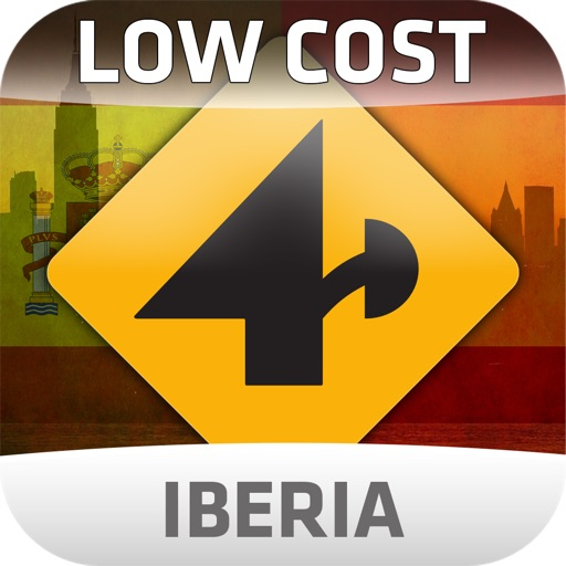 Nav4D Iberia @ LOW COST icon