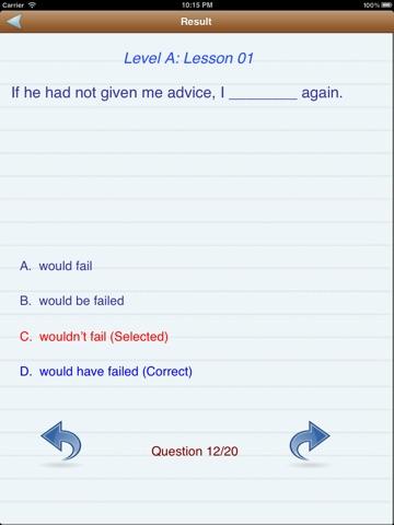Test English (Level A,B,C) Скриншоты11