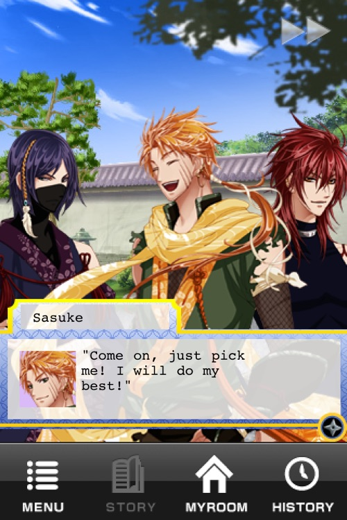 Shall we date?:Ninja Love FREE screenshot-4