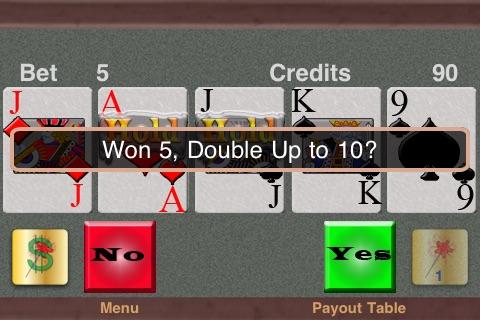 TouchPlay Bonus Poker Video Poker