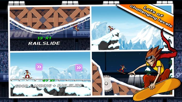 iStunt 2 - Snowboard screenshot-4