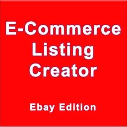 E-Commerce Listing Creator - Ebay Edition