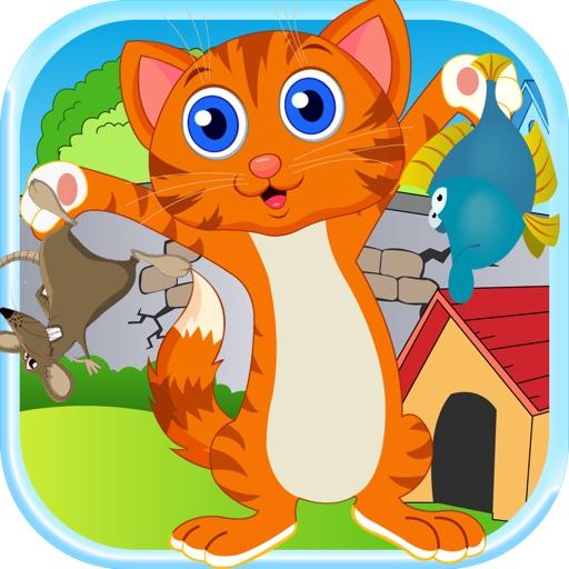 Kitty Jump For Mice - Happy Kitties Catapult Battle Free