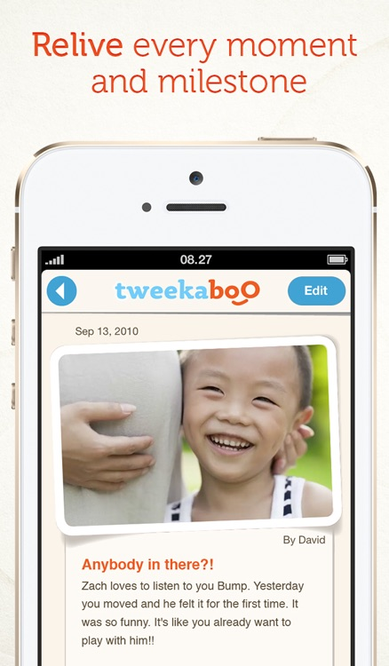 Tweekaboo: Share, Journal & Print your pregnancy, baby & family moments - privately. screenshot-4