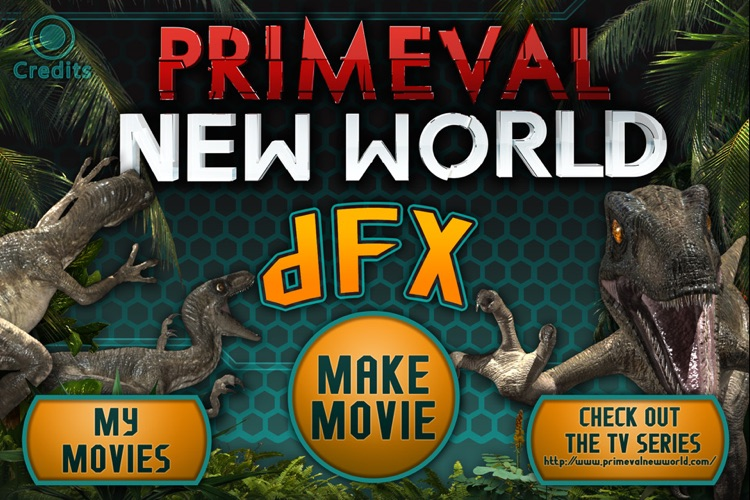 Dino Movie Maker: dFX (Special effects from the new TV show Primeval New World) screenshot-4