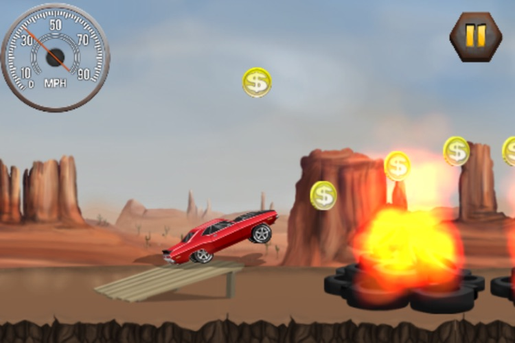 Stunt Car Challenge screenshot-0