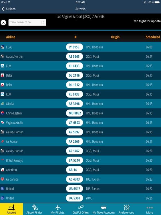 Air Travel Pro HD- Flight Tracker (all airports)