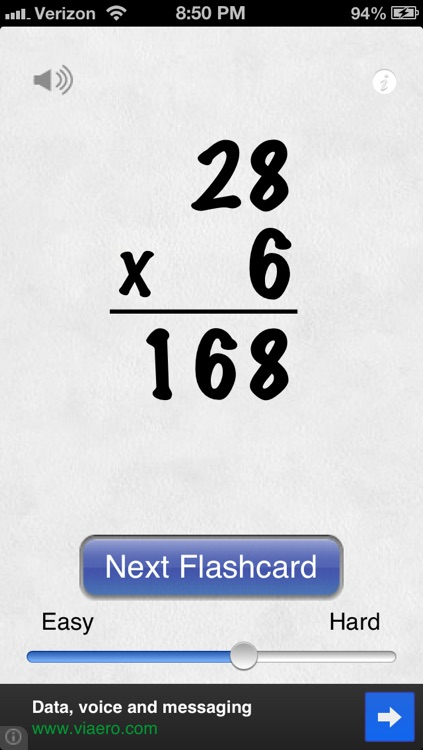 Awesome Flashcard Multiplication FREE screenshot-2