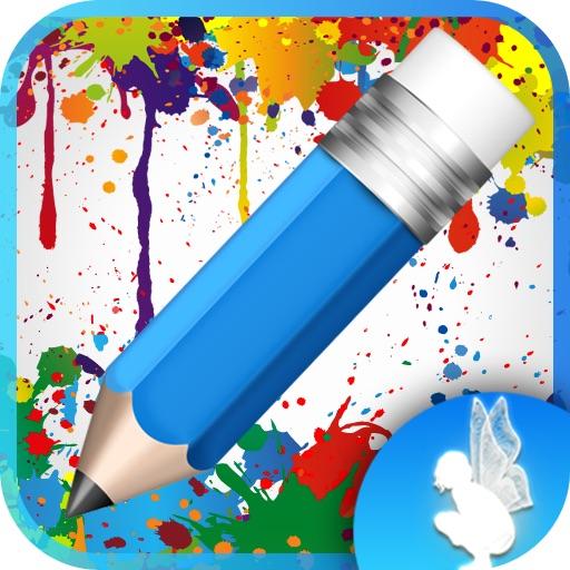 ColoringMe Золушка – Imagination Stairs – Бесплатная раскраска для детей