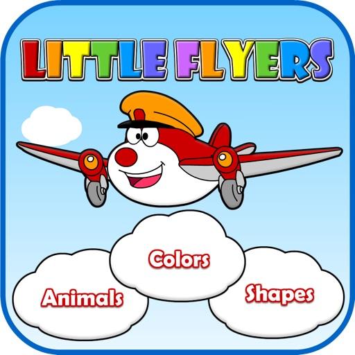 Little Flyers: Shapes, Colors & Animals