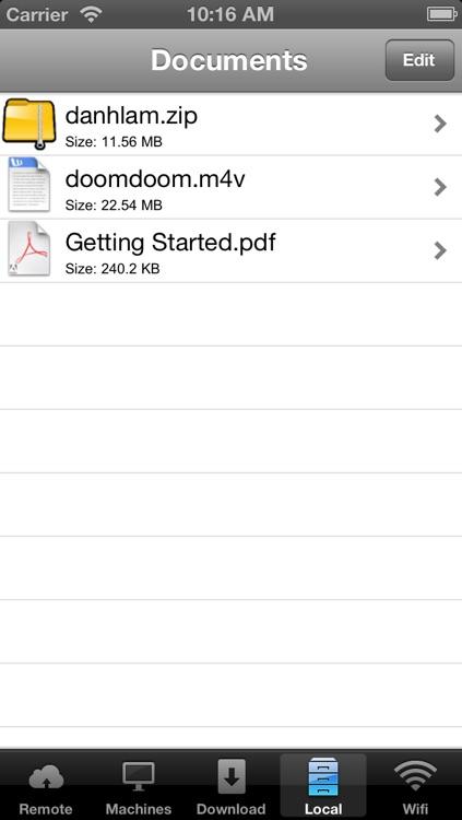 Remote File Explorer screenshot-4