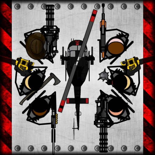 Zombie Squad - Gunship and Infantry Combat Rescue Team
