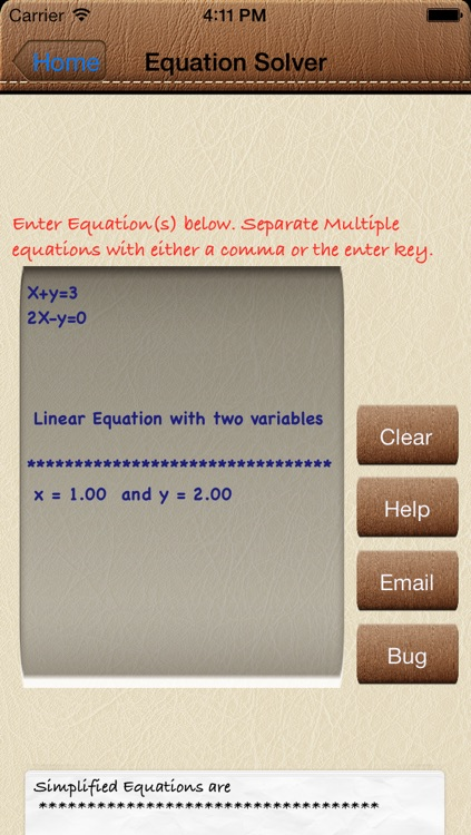 Solve4x Math Equation Solver screenshot-3