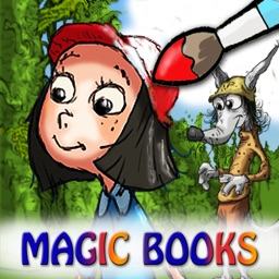 Coloring Studio - Little Red Riding Hood edition