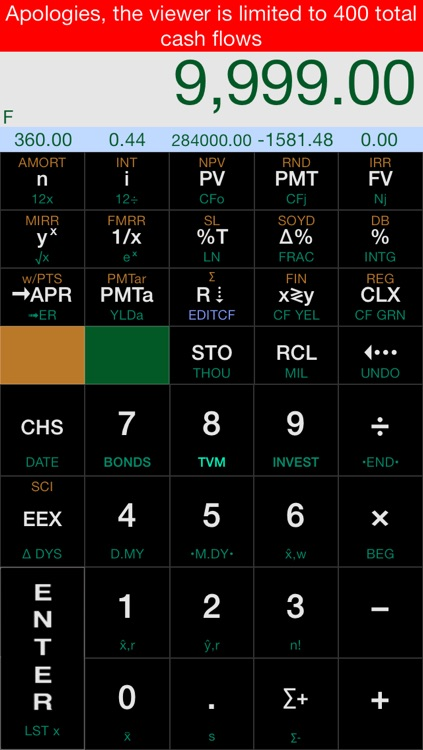 Calc-12E RPN Financial Calculator screenshot-3