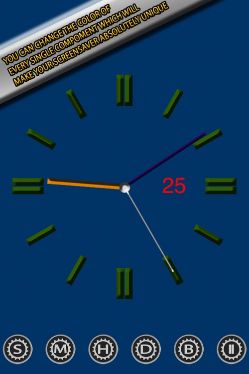 Clock Screensaver screenshot-3