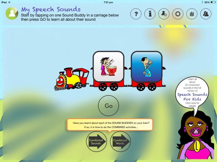 Speech Sounds For Kids Lite - US Edition