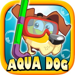 Aqua Dog - A Story of a brave swimming puppy