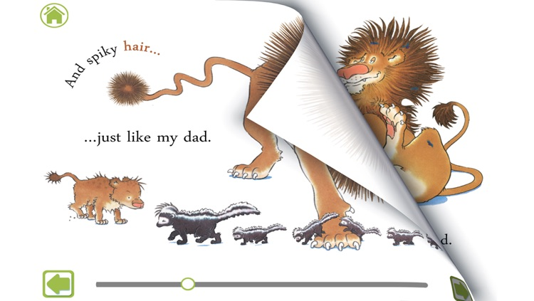 Just Like My Dad – Interactive storybook