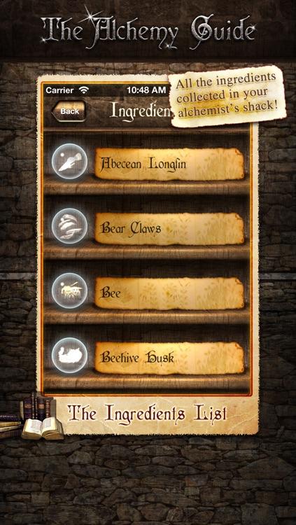 Alchemy Guide - The Skyrim Potions Helper
