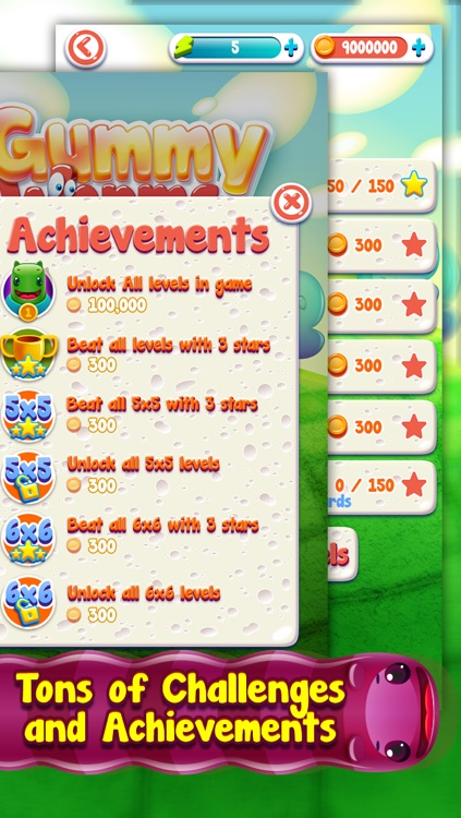 Gummy Worms Link Pro - Draw Sweet & Delicious Color Line screenshot-3