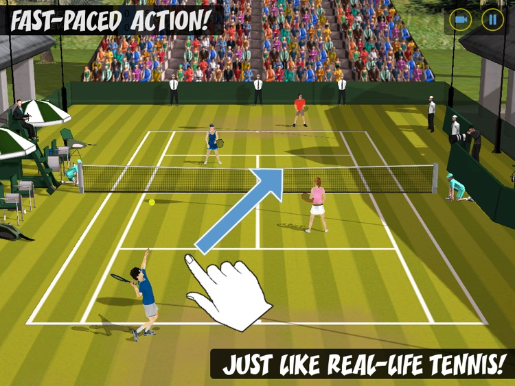 Flick Tennis HD