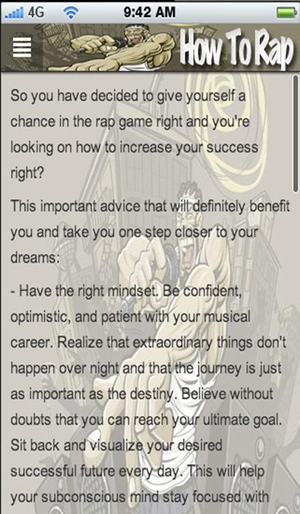 How To Rap> screenshot-4
