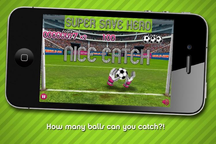 Flick Football Super Save Hero screenshot-3