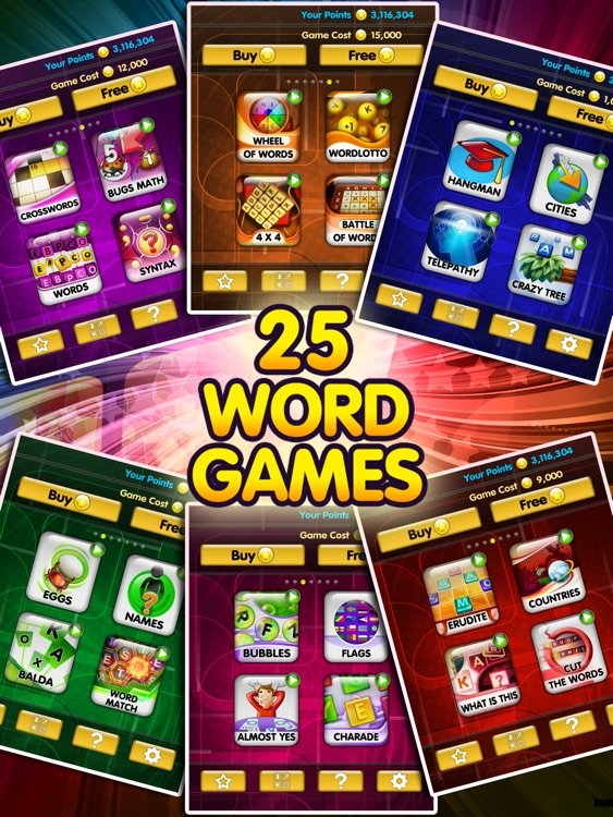 All Word Games HD