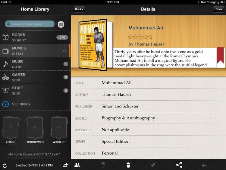 Home Library for iPad screenshot-3