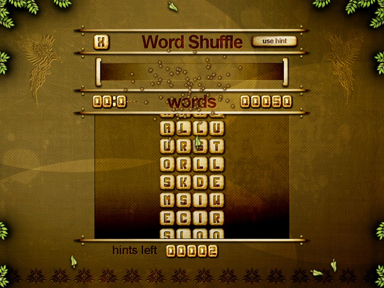 ACC Word Shuffle HD Free - classic puzzle games screenshot-2