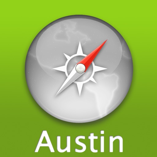 Austin Travel Map (USA)