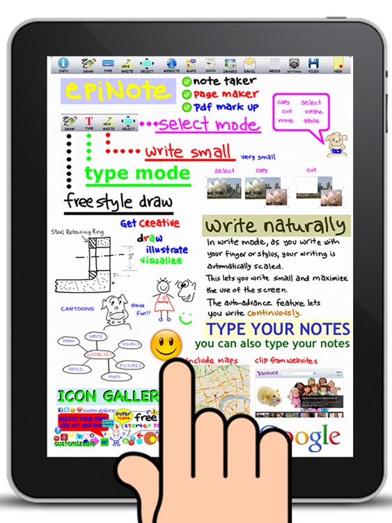 epiNote HD note taker